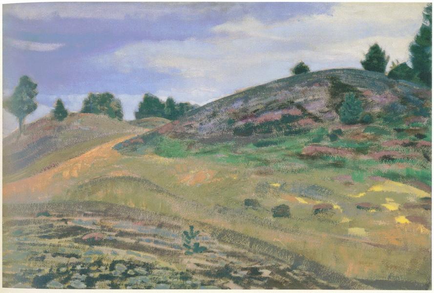Н.К. Рерих. Холмы. 1915
